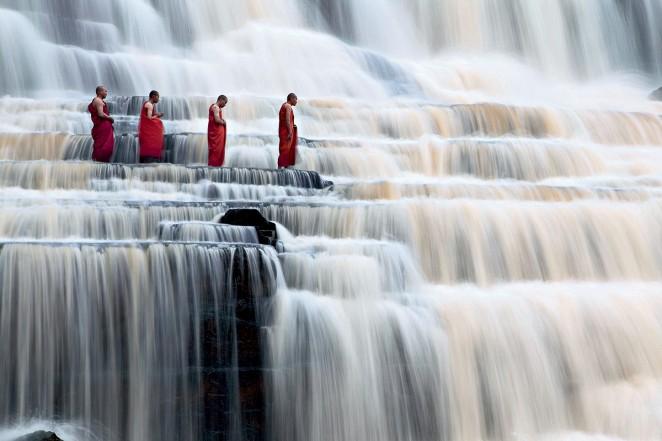 Водопад Понгур, Далат, Вьетнам