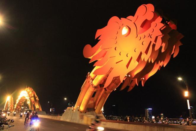 дананг, мосты, достопримечательности
