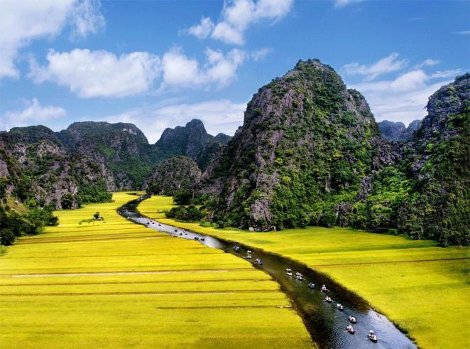 Хоа Лы - Там Кок, вьетнам