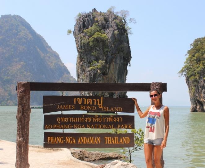 остров джеймса бонда, пхукет, таиланд