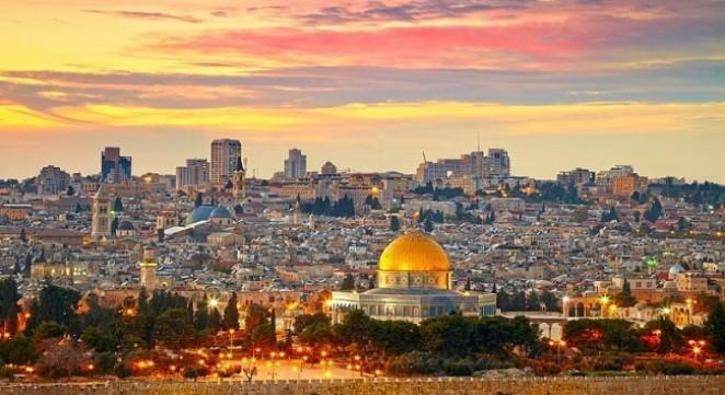 Иерусалим из Шарм эль Шейха, Израиль из Египта