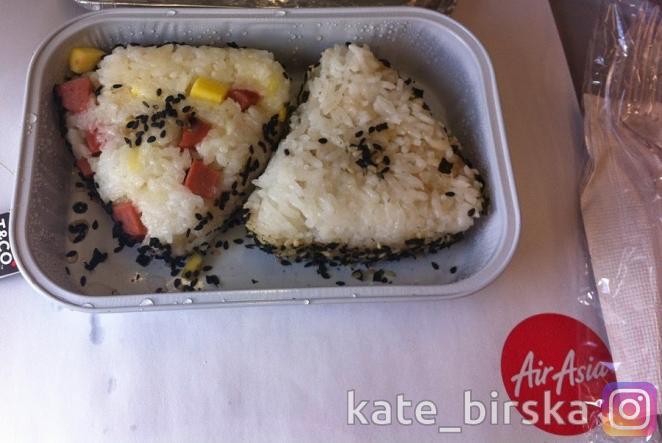 Питание на борту от AirAsia