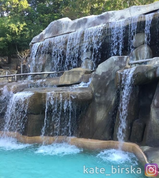 Водопады в I Resort