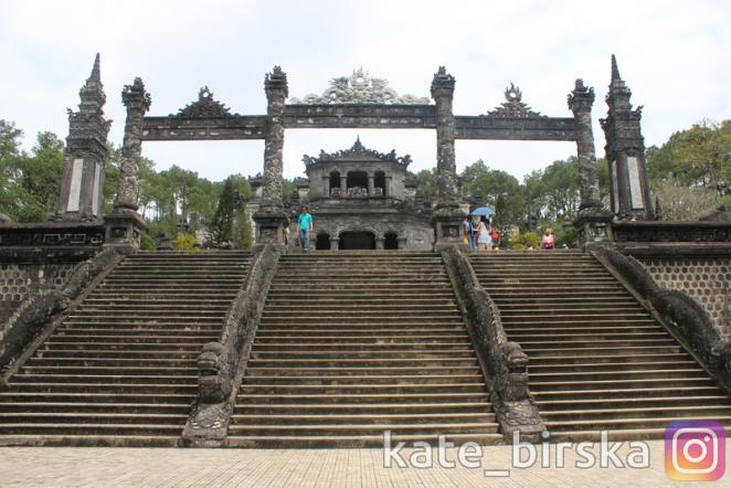 Гробница императора Кхай Диня (Хай Диня)