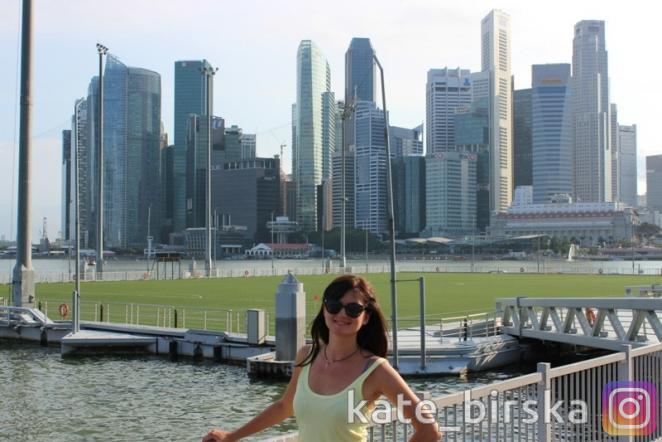 Центр Сингапура. Стадион на воде