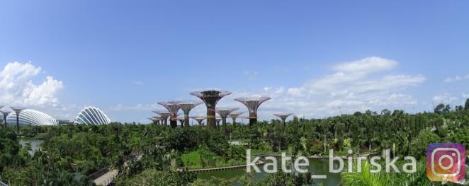 Футуристические сады, Сингапур