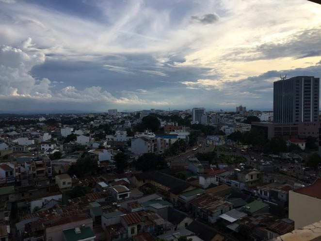 Вид на Буонметхуот, Даклак, Вьетнам