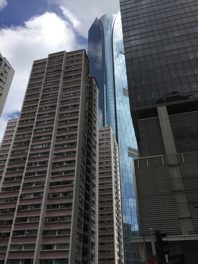 One Island East бесплатная смотровая Гонконга
