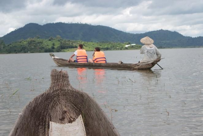 Лодки Док Мок народности мнонги, Даклак, Вьетнам