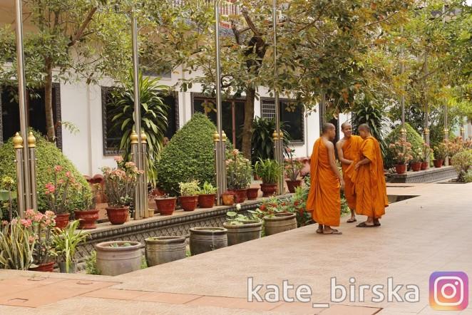 Буддийский храм в Сием Рипе, Камбоджа