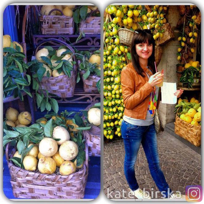 Натуральные лимонад в Неаполе