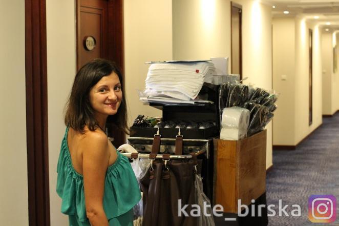Уборщица в отеле