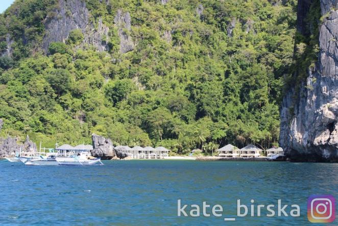 Частный отель на острове
