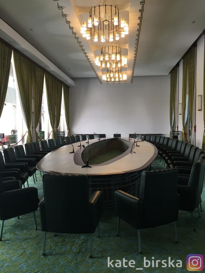 Внутренние залы дворца Независимости