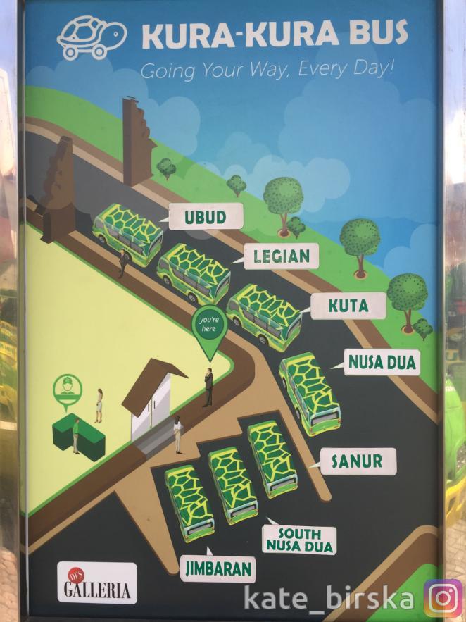 План автобусной станции