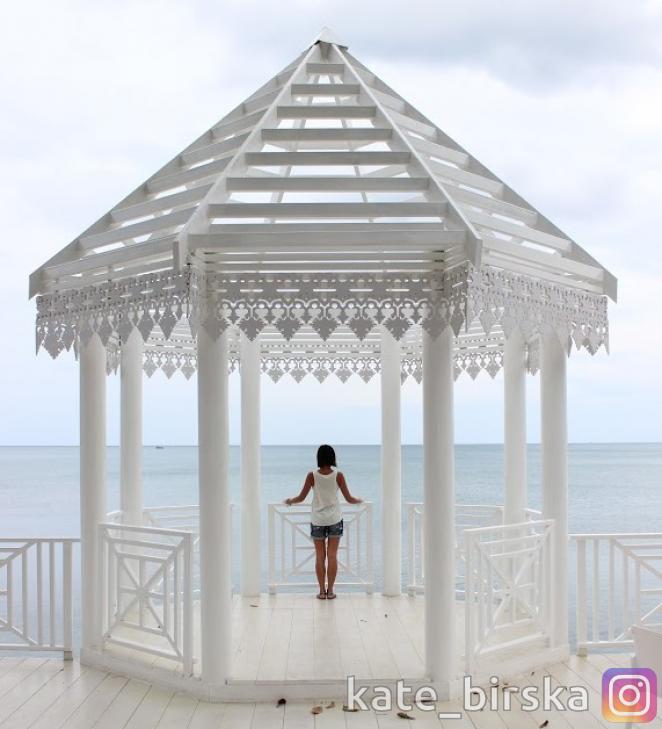 Обзорная площадка на севере пляжа Чавенг