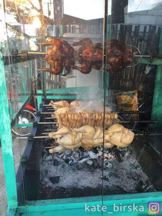 Мясо на вертеле очень популярно на Филиппинах