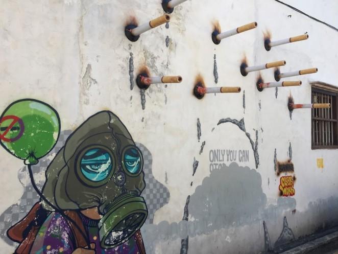 Стрит-арт в Джорджтауне