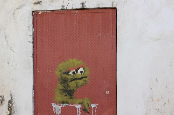 Граффити в Джорджтауне