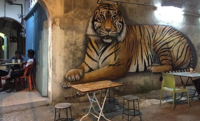 Стрит-арт в Малайзии