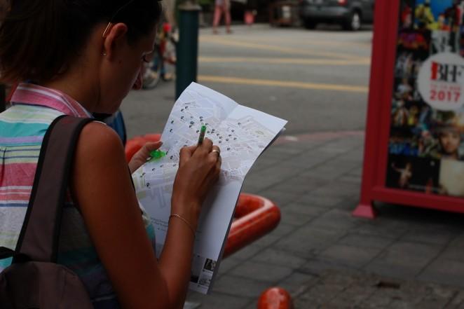 Карта граффити Пенанга