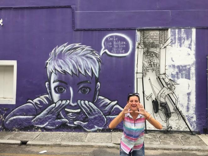 Граффити в Малайзии