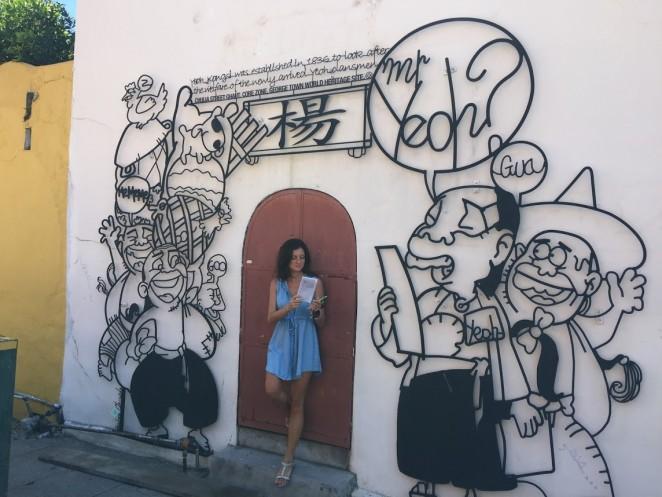 Граффити на Пенанге