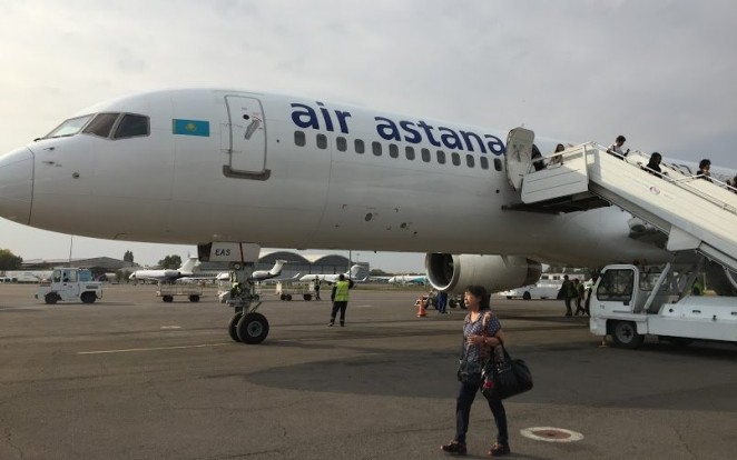 Air Astana аэропорт Алматы