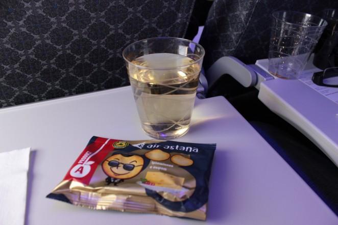 Air Astana питание на борту