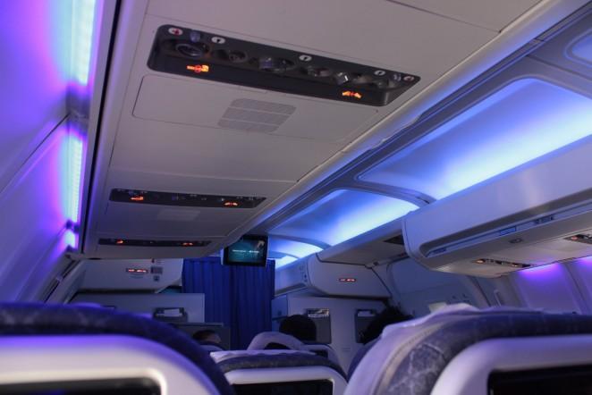 Эйр Астана борт самолета