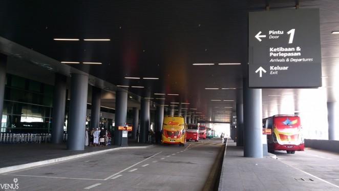 из аэропорта в Куала Лумпур на автобусе