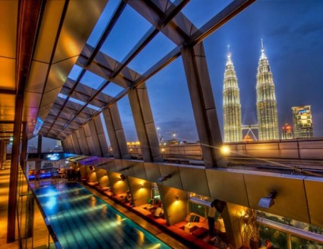 Отель с видом на башни Петронас, Куала Лумпур, Малайзия