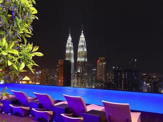 Отель с видом на башни-близнецы Петронас, Куала Лумпур, Малайзия