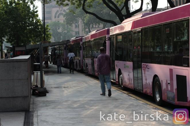Бесплатные автобусы в Куала Лумпуре