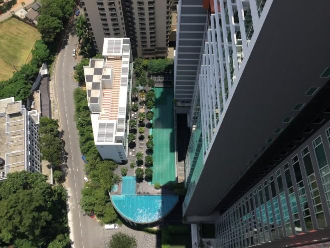 Бассен с видом на город, Малайзия, Куала Лумпур