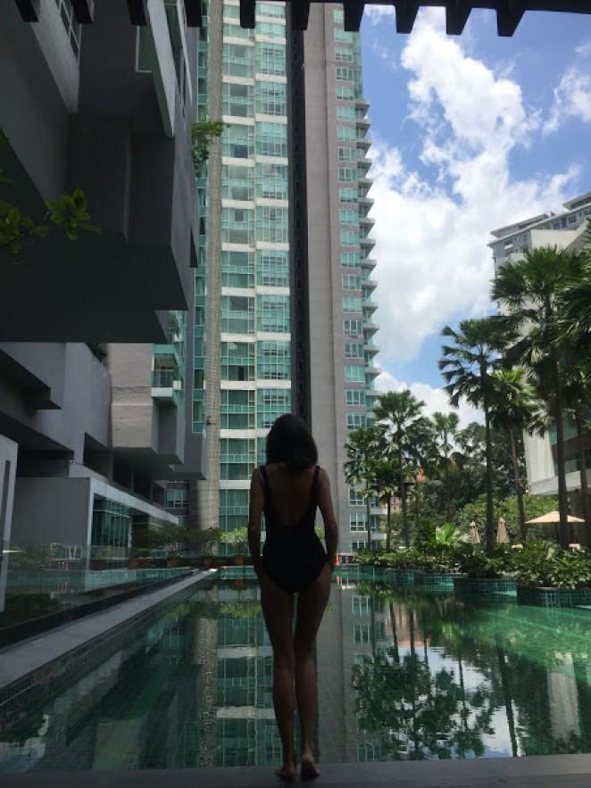 Инфинити-бассейн в Куала-Лумпуре, Малайзия