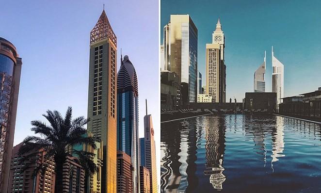 Самый высокий отель в мире, Genova, Дубай, ОАЭ
