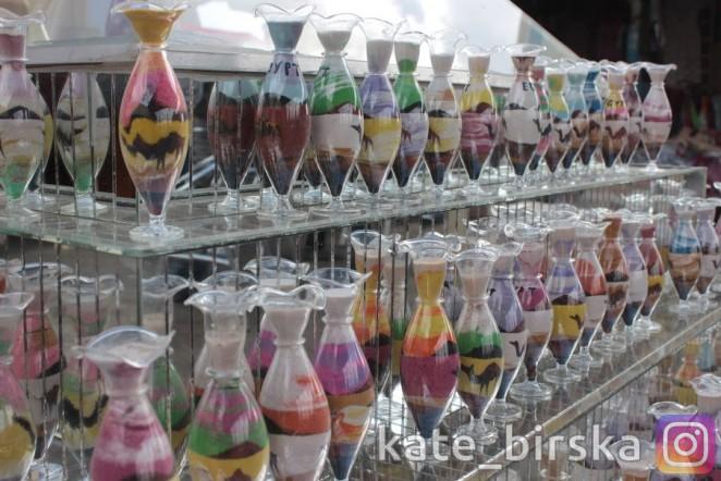 Бутылочки с песком из Египта