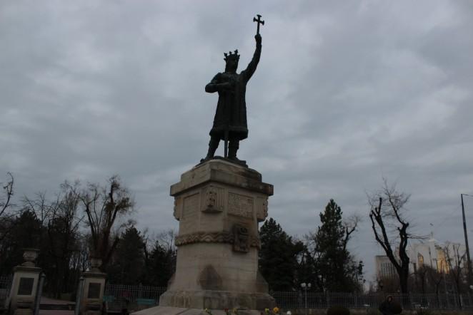 Памятник Штефану Чел Маре, Кишинев, Молдова