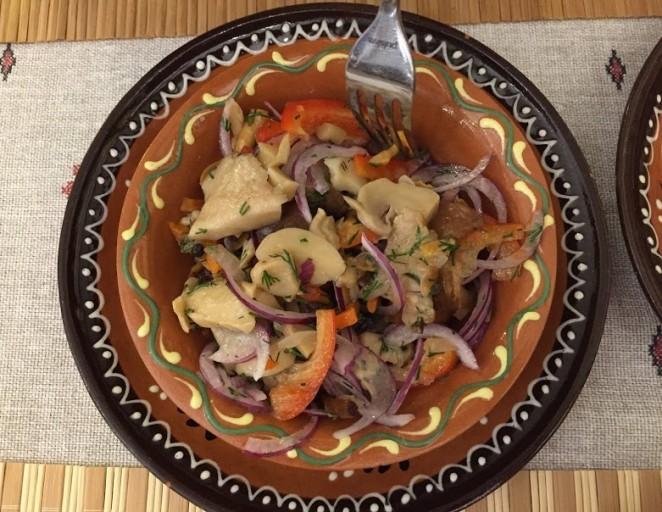 Молдавская кухня - соленья