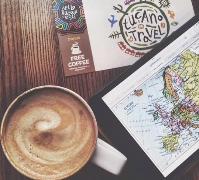 Кофейня Tucano Coffee, Кишинев, Молдова