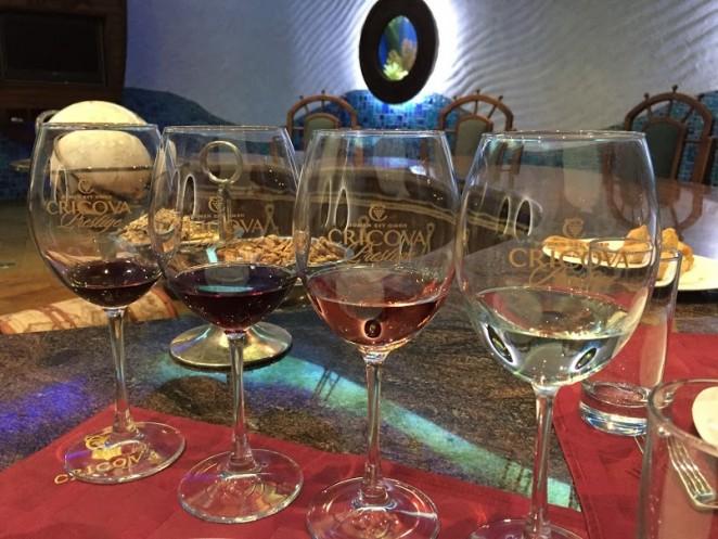 Молдавская кухня - вино