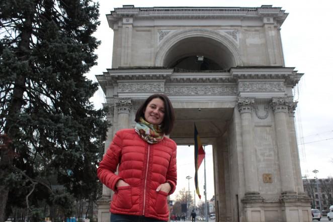 Триумфальная арка, Кишинев, Молдова