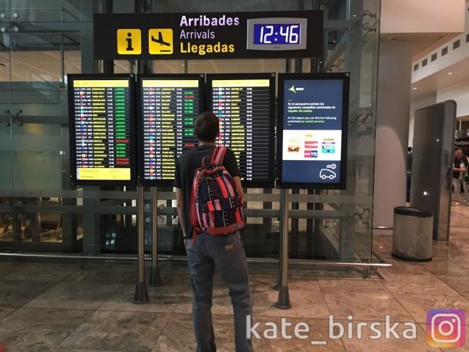 Аэропорт Аликанте, Испания