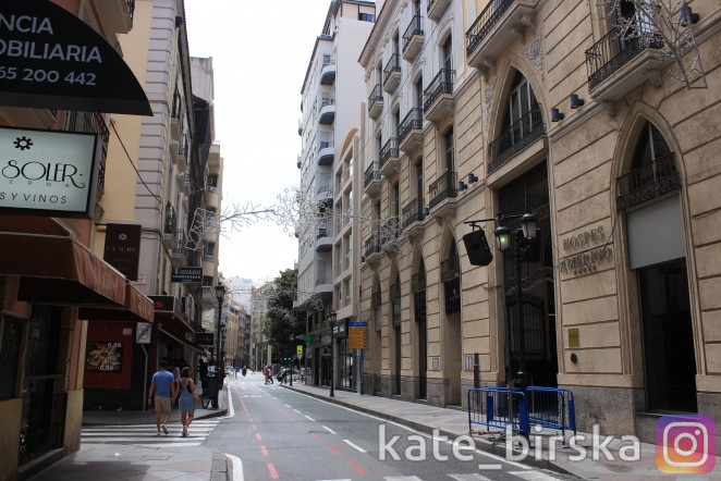 Улицы Аликанте, Испания
