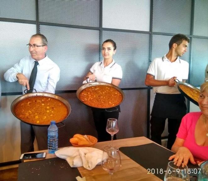 Паэлья с морепродуктами, Испания