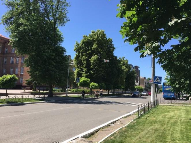 Улицы Черкасс