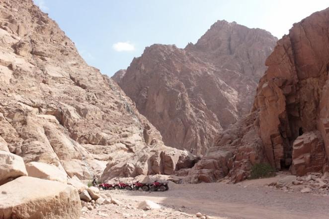 Дахаб, каньон