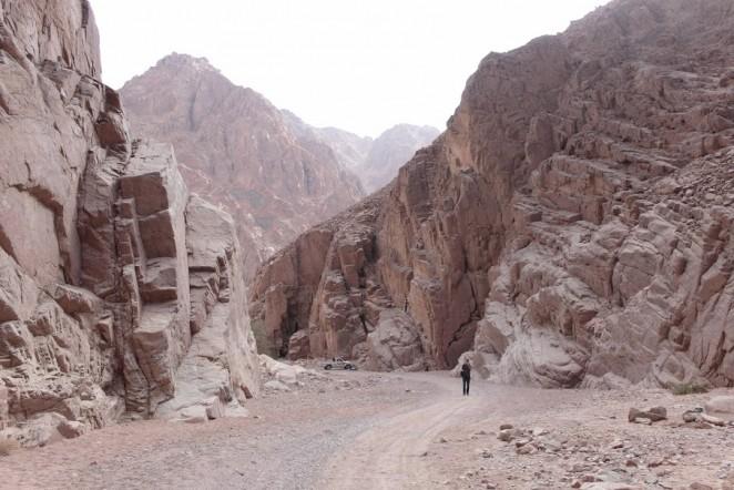 Цветной каньон, Дахаб