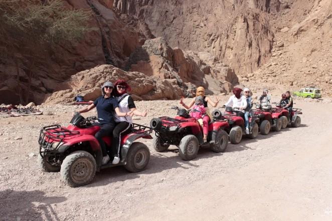 Квадроциклы, Египет, Шарм эль Шейх
